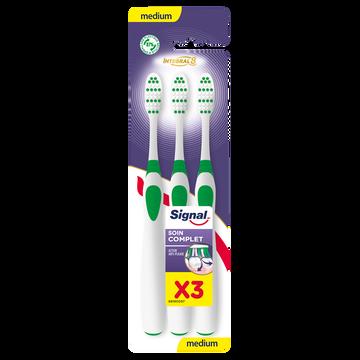 Signal Brosse À Dents Intégral 8 Soin Complet Medium Signal X3
