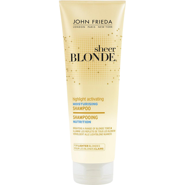John Frieda Shampoing Nutrition Activateur De Reflets Blonds Clairs John Frieda, Tube De 250ml