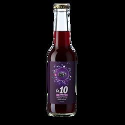 Pétillant au cassis LA 10, bouteille de 27.5cl