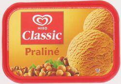 Crème Glacée Classic Praliné Miko 1L