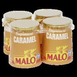 Emprésuré sucré au caramel, MALO, 4 pots de 125g