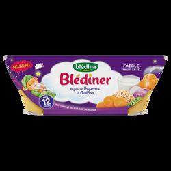 BLEDINER mijoté de légumes et quinoa Bledina 12 mois 2x200g