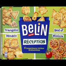 Assortiments de biscuits apéritif Réception BELIN, 380g