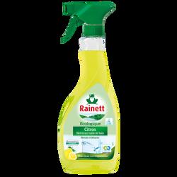 Nettoyant anti-calcaire citron Ecolabel RAINETT, pistolet de 500ml