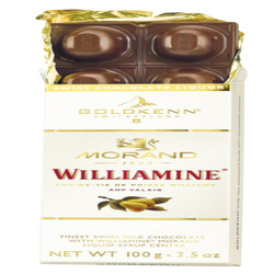 Tablette de chocolat à la williamine GOLDKENN, 100g