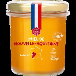 Miel de Nouvelle-Aquitaine LES RUCHERS DU GUE, pot de 425g