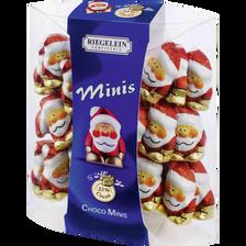 Riegelein Minis Père Noël 33% Cacao , 100g