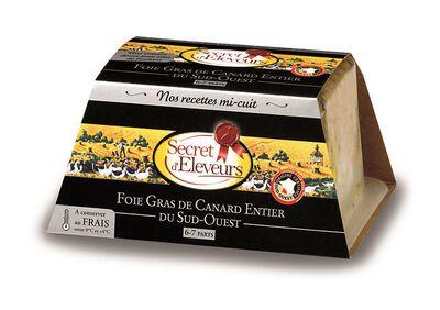 Foie gras de canard entier Mi-Cuit du Sud Ouest 300g