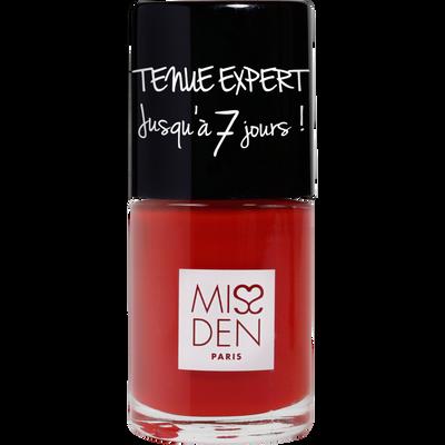 Vernis tenue expert rouge salsa, MISS DEN