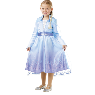 La Reine des neiges - Panoplie Elsa + tresse taille S