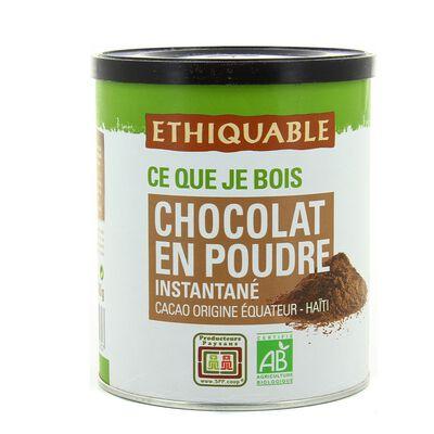 Chocolat instantané  400g Ethiquable