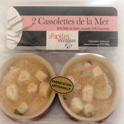 CASSOLETTE DE LA MER 2X110G