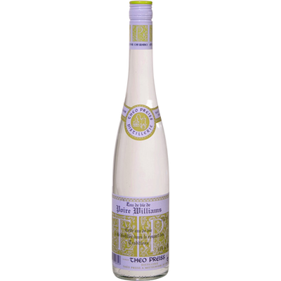 Eau de vie de Poire William THEO PREISS, 45°, bouteille de 70cl