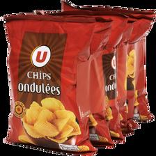 Chips ondulées easy U, 6x30g