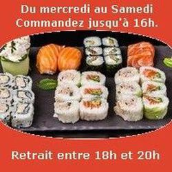 Mont Hotaka  30 pieces SUSHIS MONT BLANC
