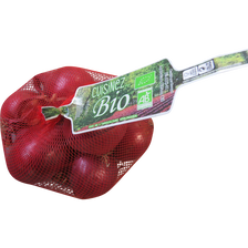 Oignon rouge, BIO, calibre 40/60, Pays Bas, filet 500g