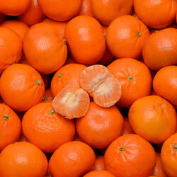 Mandarine orri, calibre 1, catégorie 1, Afrique du Sud