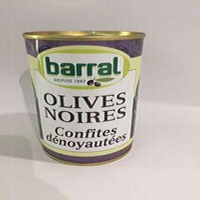 Olives Noires Confites dénoyautées BARRAL