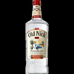 Rhum blanc OLD NICK, bouteille de 1,5l