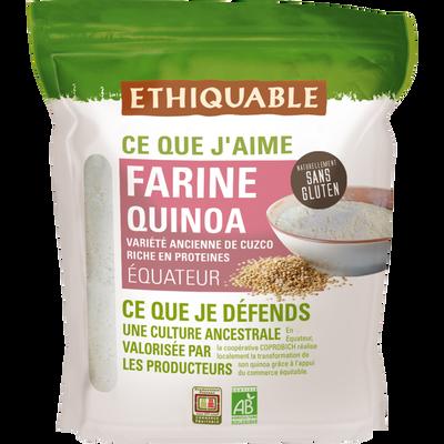Farine quinoa equateur bio ETHIQUABLE, 400g