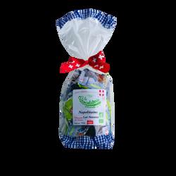 Chocolats napolitains lait et noisettes bio, sachet de 140g