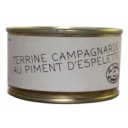 Terrine campargnarde au piment d'Espelette LA CUISINE D'ANNETTE, 130g