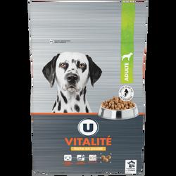 Croquettes premium pour chien vitalité riches en poulet U, 10kg