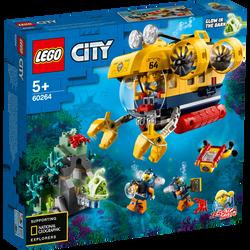 LEGO® City - Le sous-marin d'exploration - 60264 - Dès 5 ans