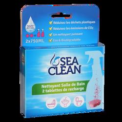 Nettoyant salle de bain SEA CLEAN recharge de 2 tablettes
