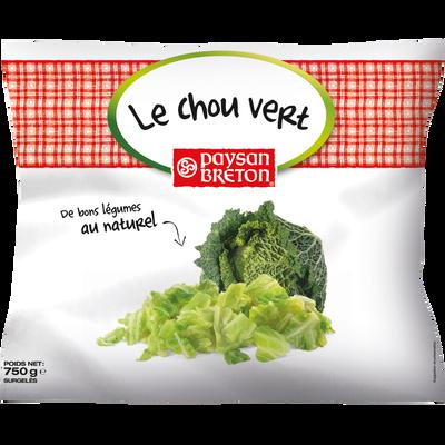 Chou vert PAYSAN BRETON, sachet de 750g