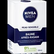 Nivea Baume Après-rasage Peaux Sensibles Nivea For Men, Flacon 100ml