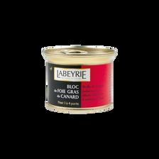 Bloc foie gras de canard LABEYRIE, 150g