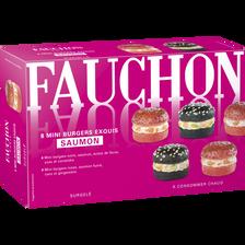 Mini burger chic saumon, FAUCHON, 100g