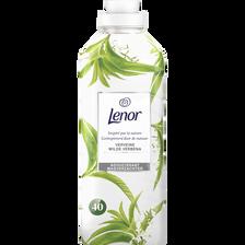 Assouplissant concentré instant nature verveine LENOR, bidon d'1 litresoit 40 lavages
