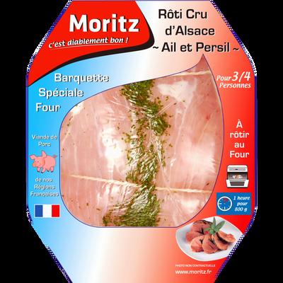 Rôti épaule de porc ail/persil, MORITZ, France, 1 pièce