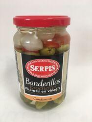 Serpis - Brochettes Végétales Piquantes au vinaigre - 340G
