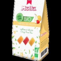 Pâtes de fruits bio MOTTA, 180g