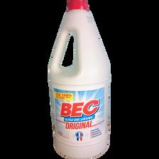 Eau de Javel nature à 2,6% de chlore actif bec, bidon 2 litres