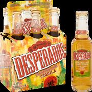 Desperados Bière Arômatisée Téquila Desperados, 5,9° 6x33cl