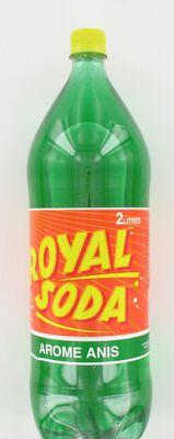 ROYAL SODA anis, bouteille de 2l