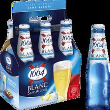 Bière blanche sans alcool citron coriande KRONENBOURG, 6x25cl