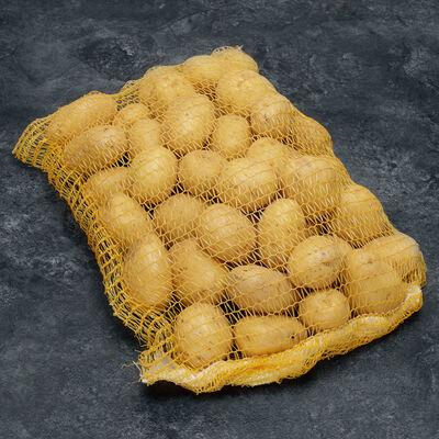 Pomme de terre nouvelle récolte, Rikéa, de consommation, calibre 35/+,catégorie 1, France, filet 5kg