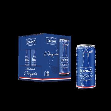 Lorina Limonade Lorina Canette 4x33cl