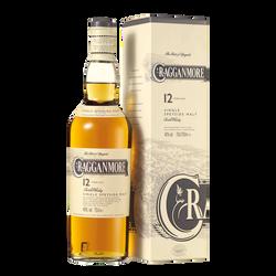 Scotch whisky single malt CRAGGAMNORE, 12 ans d'âge, 40°, 70cl