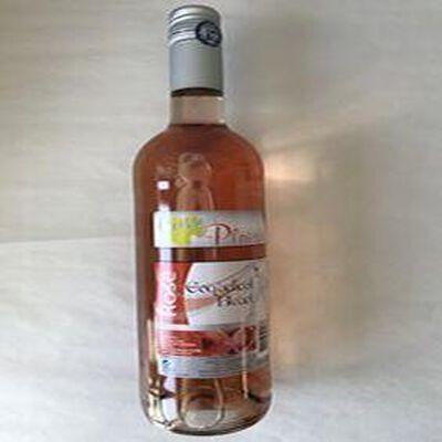Boisson aromatiséé à base de vin Rosé coquelicot bleuet VINS ET FRUITS