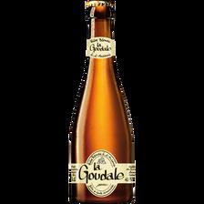 Bière LA GOUDALE, 7,2°, bouteille de 33cl