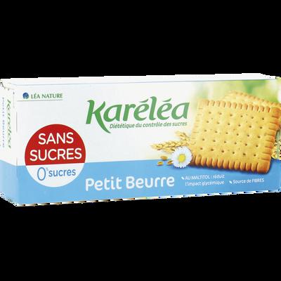 Petit beurre sans sucres KARELEA, paquet de 150g