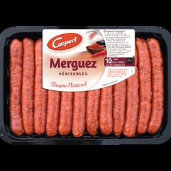 Merguez, MADRANGE, France, 12 pièces, barquette, 660g