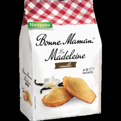 Madeleines tradition à la vanille BONNE MAMAN, paquet de 300g