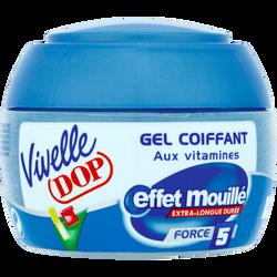 Gel coiffant effet mouillé VIVELLE DOP, pot de 150ml